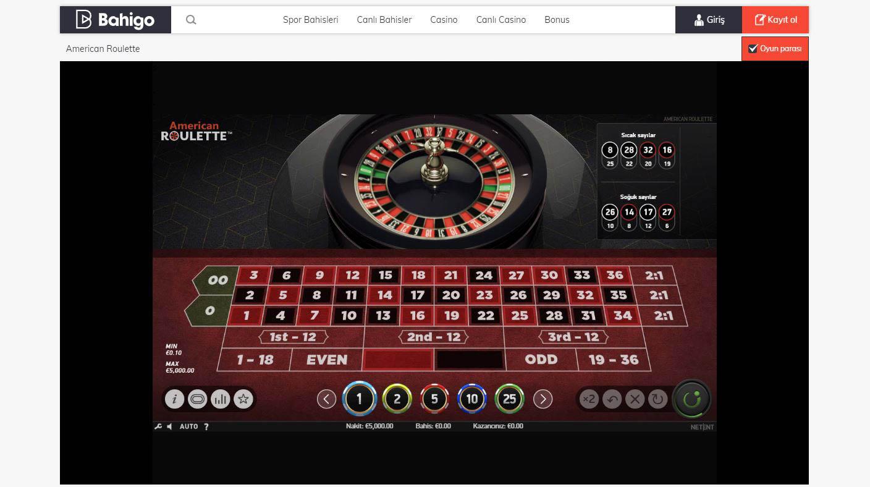 Canli Casino Geri Odeme Bonusu